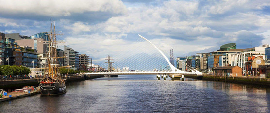 The Samuel Beckett Bridge