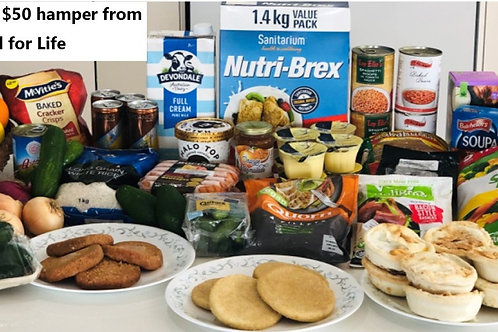 $55 Gluten Free B Hamper for Pick Up week starting 27th July