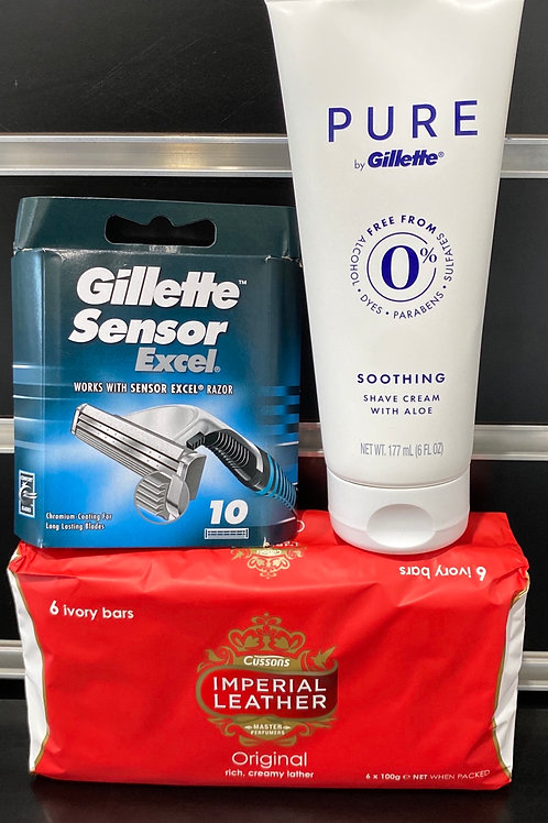 Men's Bathroom Refill Pack (cartridges only) for week starting 13th April
