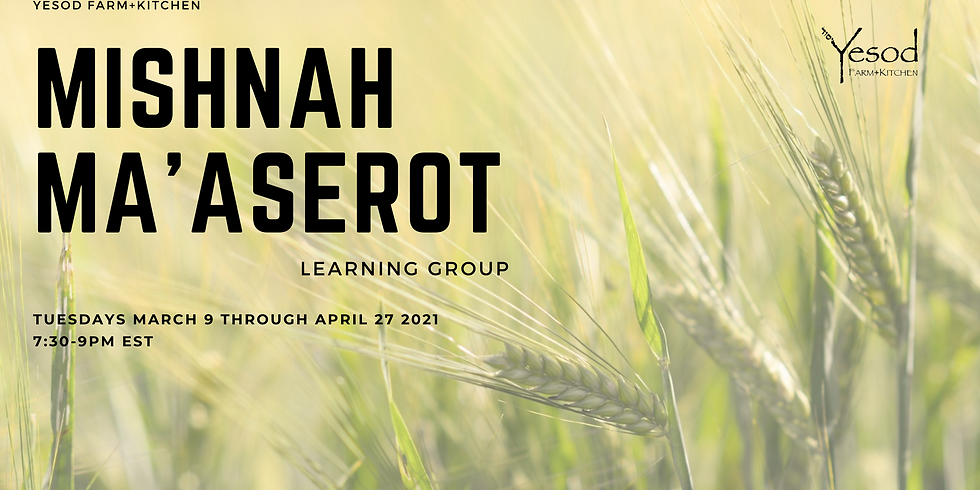 Mishnah Ma'aserot Learning Group