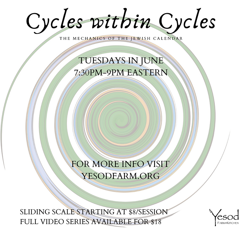 Cycles within Cycles: Mechanics of the Jewish Calendar