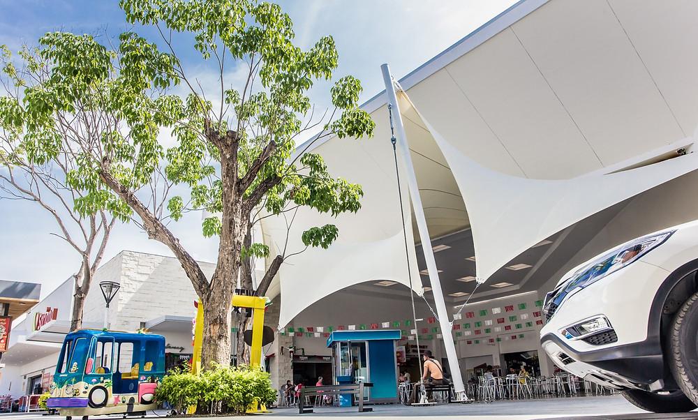 Cubierta de mallasombra para Plaza Galerías Autlán