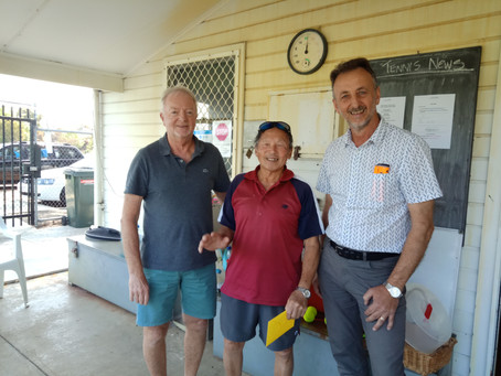 Lyle Lee Awarded Club Member of the Year