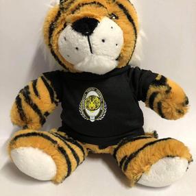 Tiger Soft Toy Black Shirt $35.00