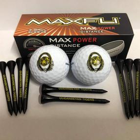 Tigers Embossed Golf Balls & Tees Pack $25.00