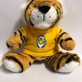 Tiger Soft Toy Yellow Shirt $35.00