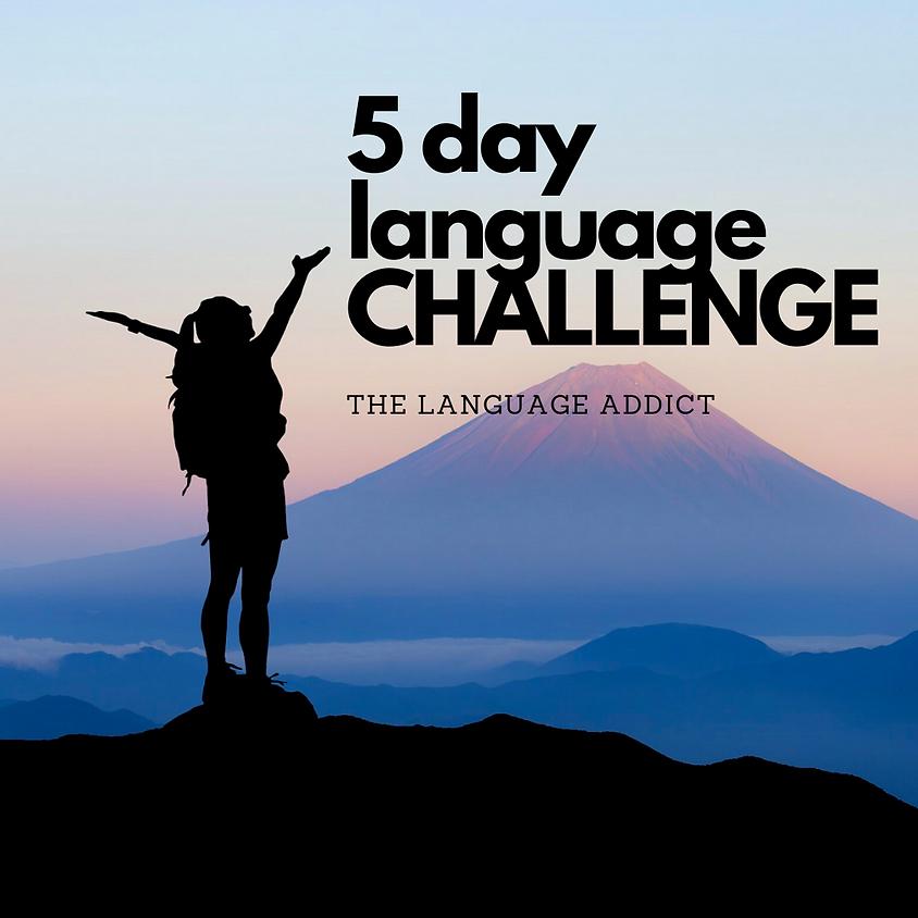 FREE 5 Day Language Challenge