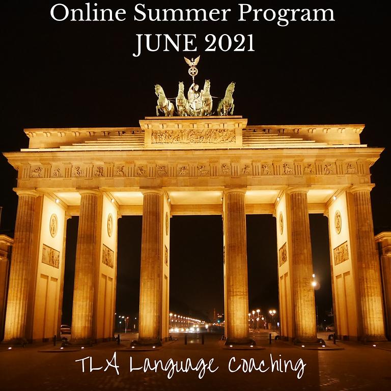 Online German Summer Program JUNE 2021