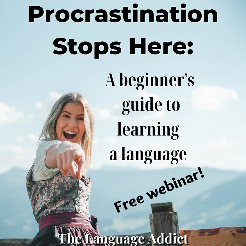 Procrastination Stops Here: Beginner's Guide to Language Learning   (2)