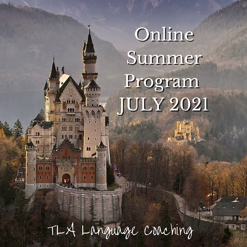 Online German Summer Program JULY 2021