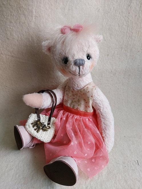 Künstlerbär *Frieda*, 30 cm - ein Traumbärenmädchen