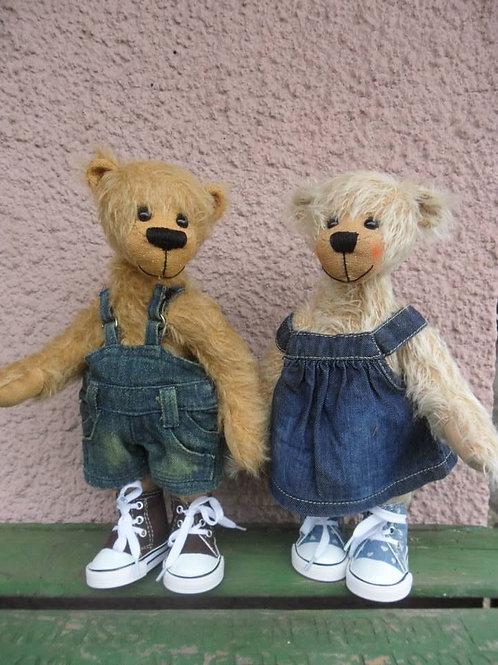 Bastelset *Hans & Grete*, je 30 cm