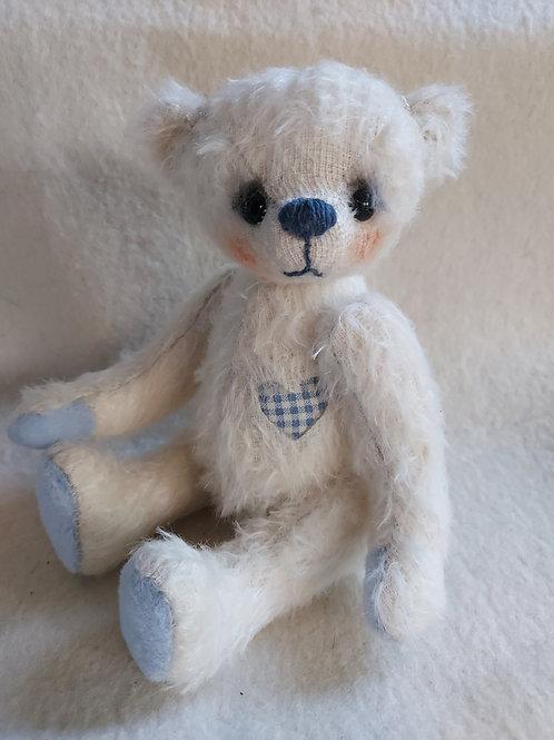 Künstlerbär *Freya*, 20 cm - Bär mit Herz