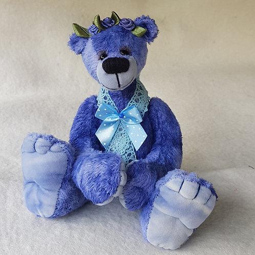 Bastelpackung Bärenmädchen *Kornblümchen*, 20 cm