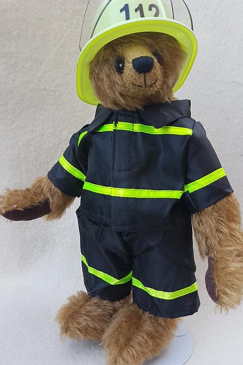 Feuerwehrbär *Florian*, 30 cm - Schnittmuster + Anleitung