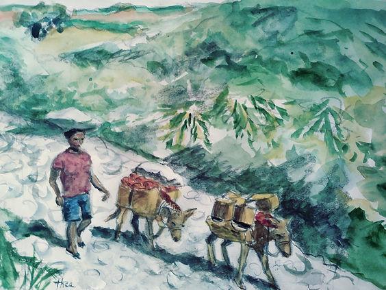 GOING TO MARKET HAITI painting.jpg