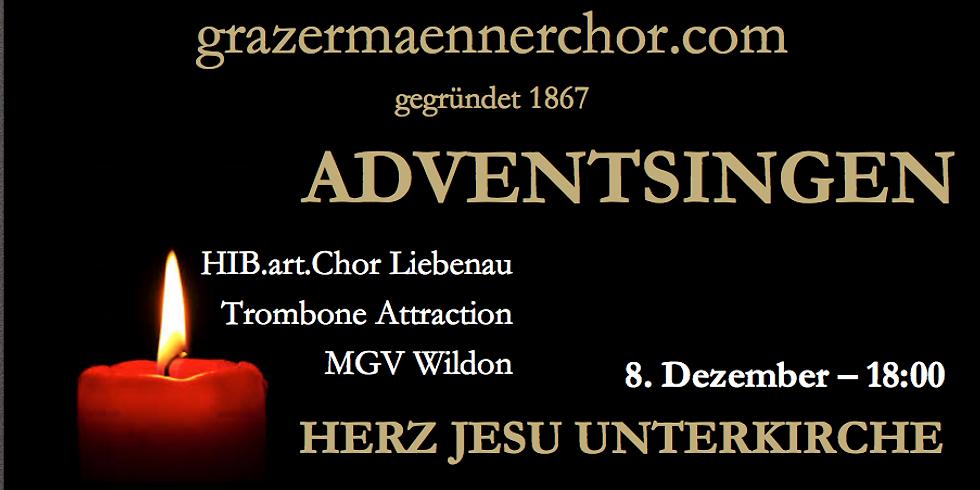 8.12. Adventsingen Herz Jesu Unterkirche 18:00