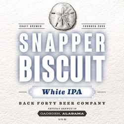 Snapper Biscuit White IPA