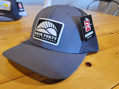 GRAY WITH GRAY MESH, RUBBER PATCH