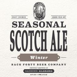 Seasonal Winter Scotch Ale