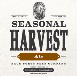 Seasonal Harvest Ale