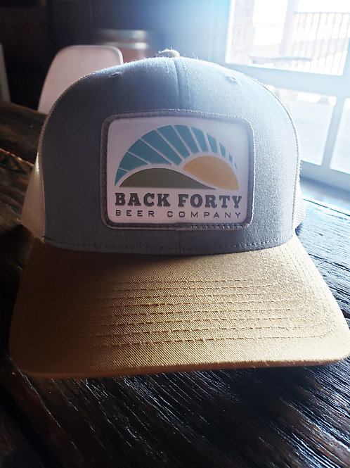 Heather Gray/Mustard Trucker Hat