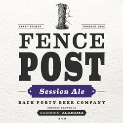 Fence Post Session Ale