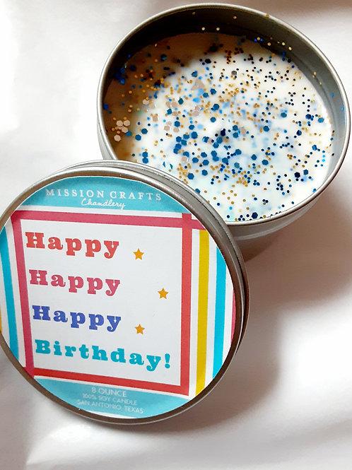 happy, happy, happy  birthday to you
