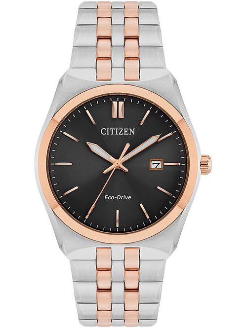 Citizen Men's Stainless Steel Eco-Drive Bracelet Watch