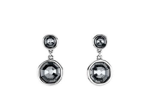 Double Trouble Silver Earrings