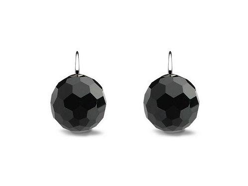 Ti Sento Black Bead Hook Earrings