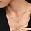 Thumbnail: Vintage Circle Collier Necklace