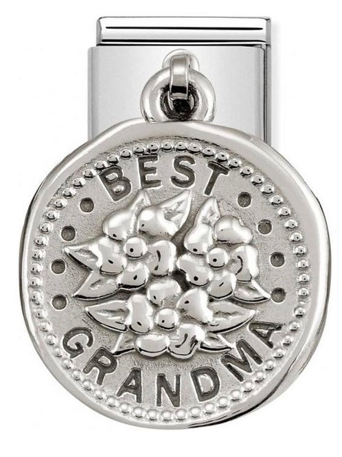 Nomination Silver Best Grandma Wishes