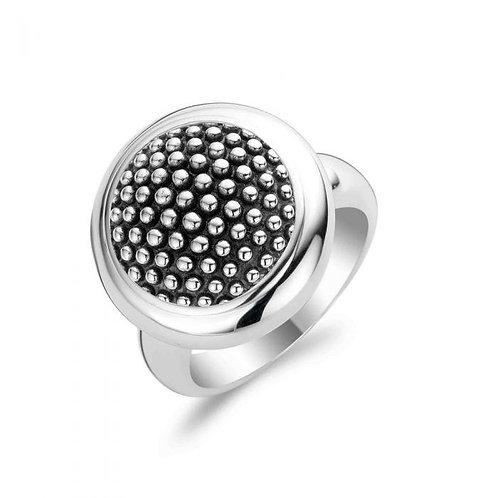 Ti Sento Large Beaded Ring - Size O