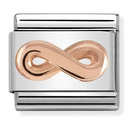 Nomination Rose Gold Infinity