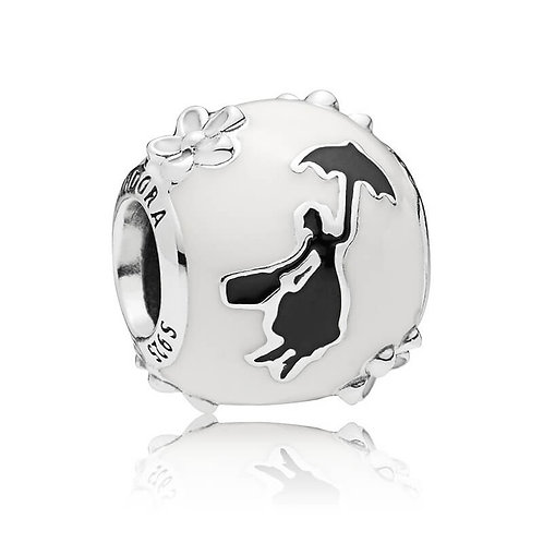 Disney Mary Poppins Silhouette Charm