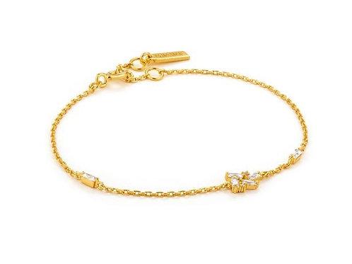 Gold Cluster Bracelet