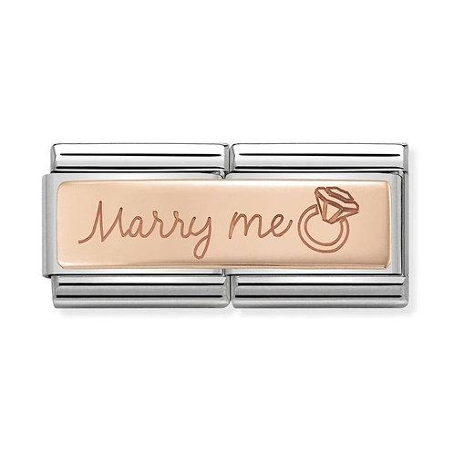 Nomination Rose Gold Marry Me