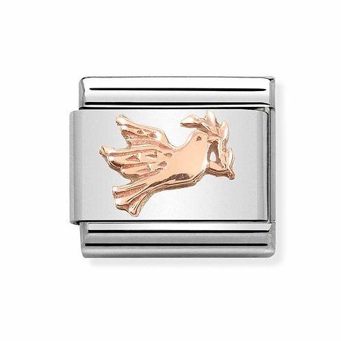 Nomination Rose Gold Dove of Peace