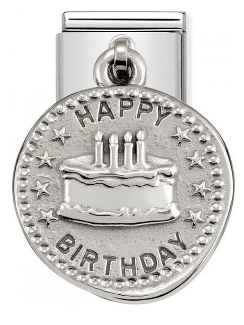 Nomination Silver Happy Birthday Wishes