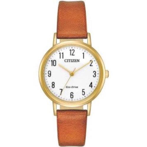 Citizen Ladies Leather Strap Watch