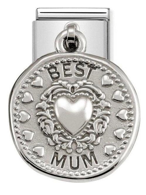 Nomination Silver Best Mum Wishes