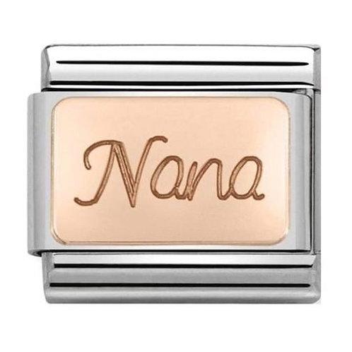 Nomination Rose Gold Nana