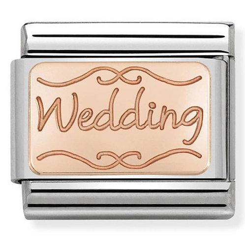 Nomination Rose Gold Wedding
