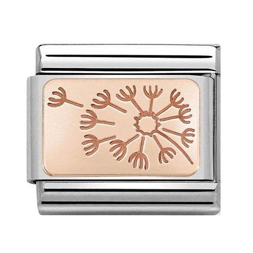 Nomination Rose Gold Dandelion Clock