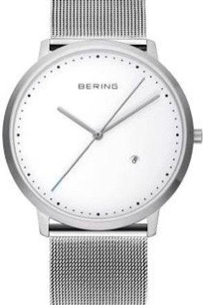Bering Classic Silver Mesh Watch