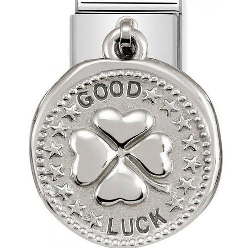 Nomination Silver Good Luck Wishes