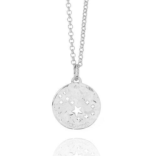 Silver Scorpio Necklace