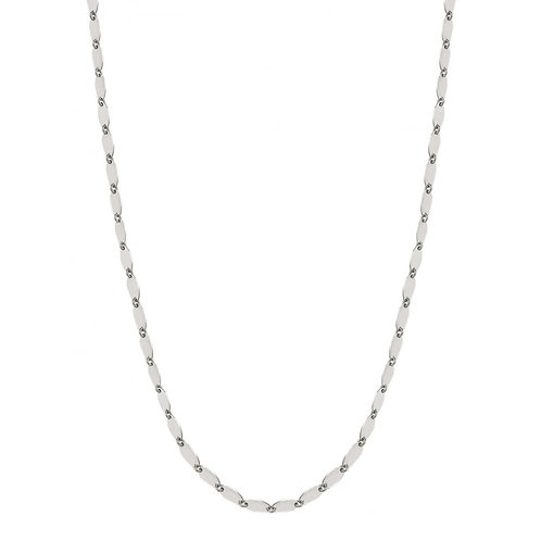 Nomination Armonie Sterling Silver Long Full of Ovals Necklace