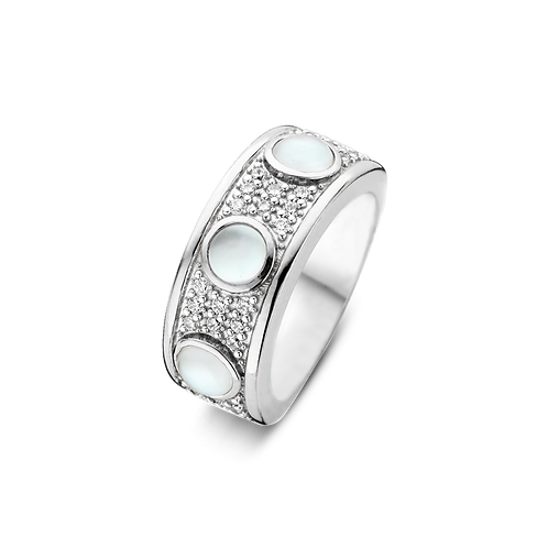 Ti Sento Mother of Pearl Ring - Size O